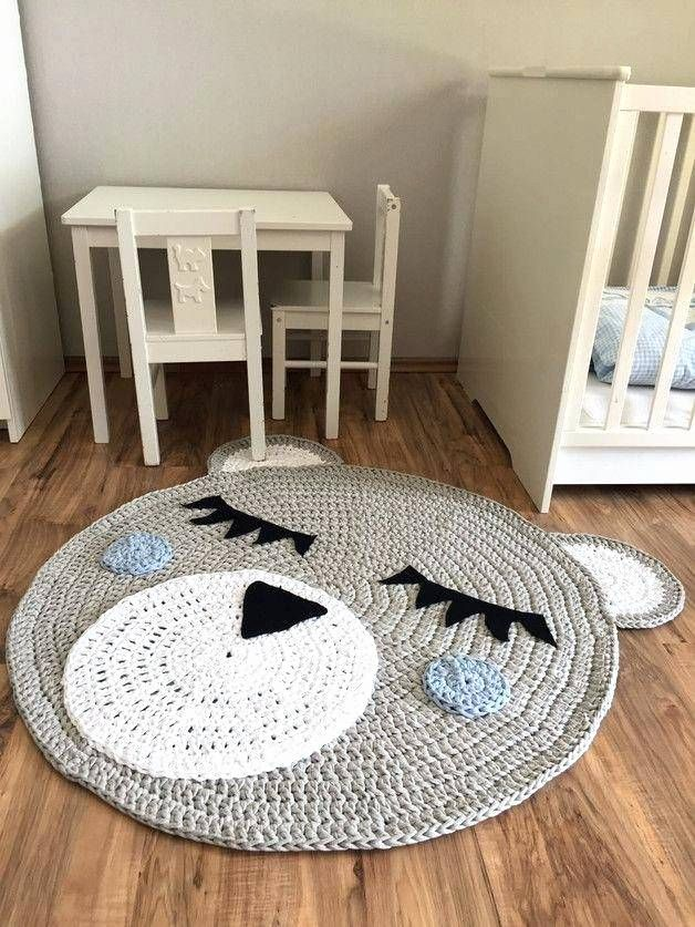 Kinderzimmer Teppich Rund
