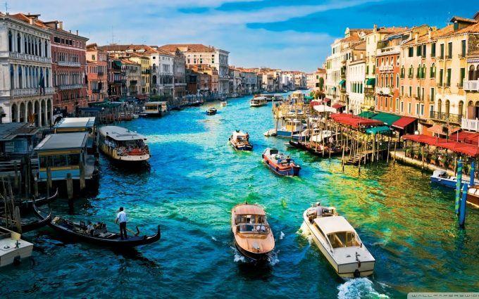 Canal Grande Venice Hd Wide Wallpaper Venice Wallpaper Cities