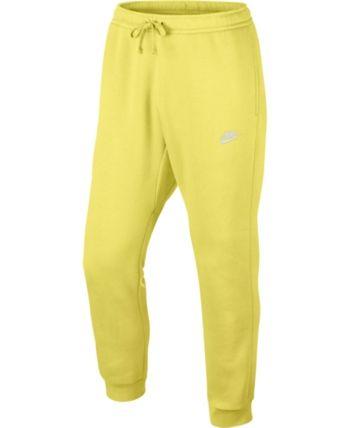 383e141b Nike Men Fleece Jogger Pants | Products in 2019 | Mens yellow pants ...
