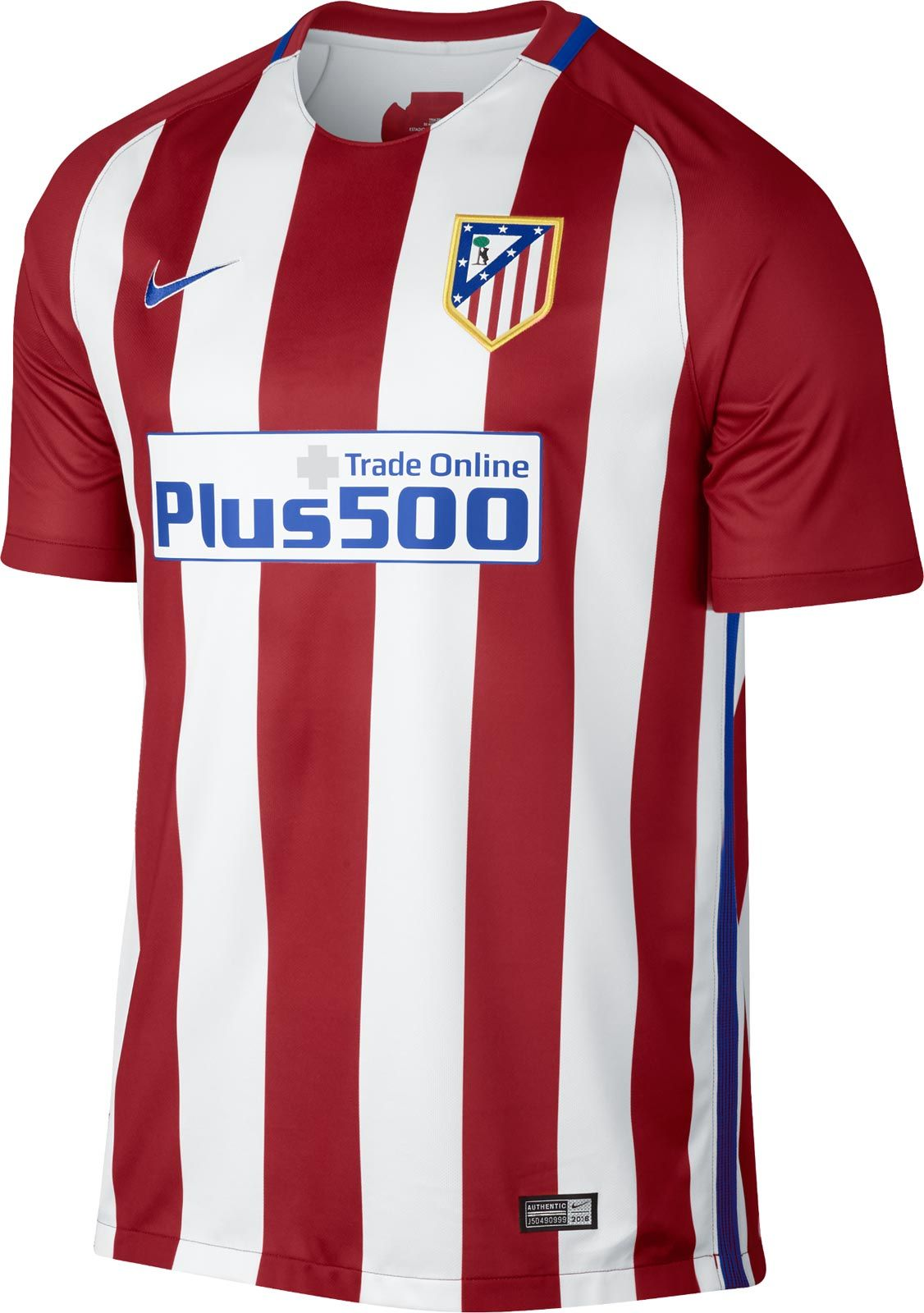Atletico Madrid 16 17 Home Kit Released Atletico Madrid Soccer Jersey Soccer Shirts