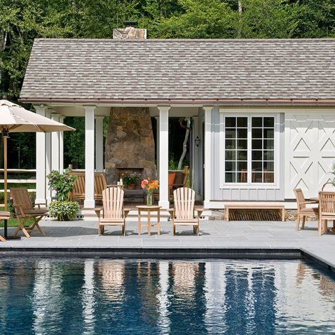 Kw to dm ma another pool house design with an indoor area and outdoor protected seating ideas pictures remodel decor also giardini rh pinterest