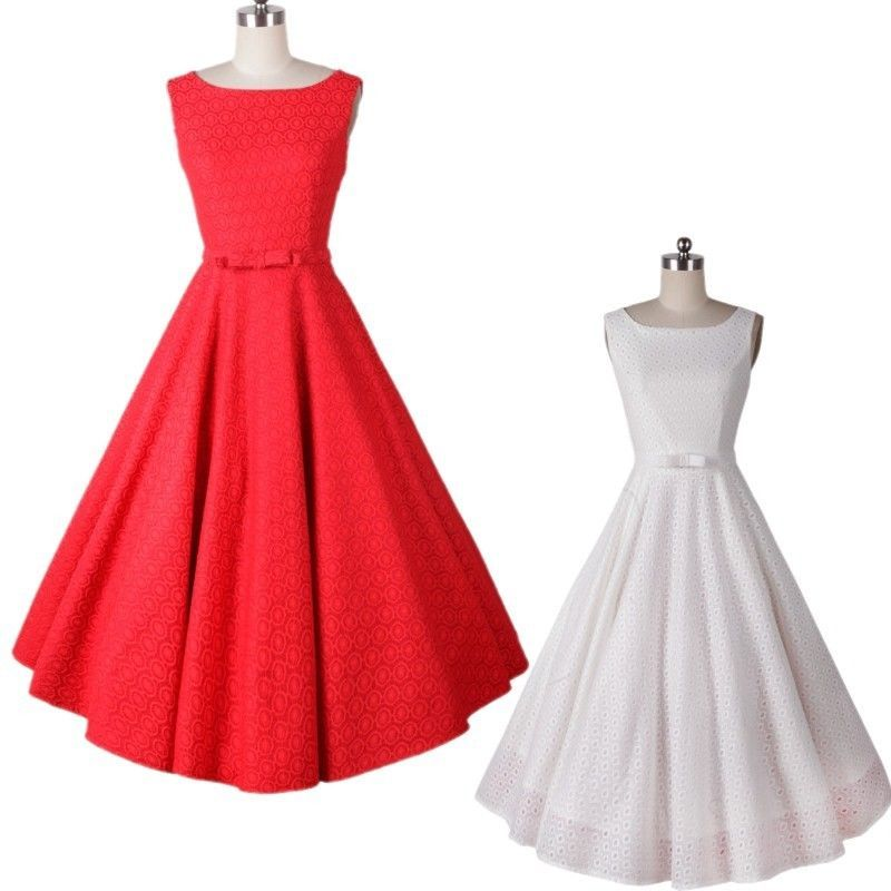 Retro Women 50s 60s Lace Vintage Rockabilly Swing Evening Party Bridesmaid  Dress #unbrand #StretchBodycon