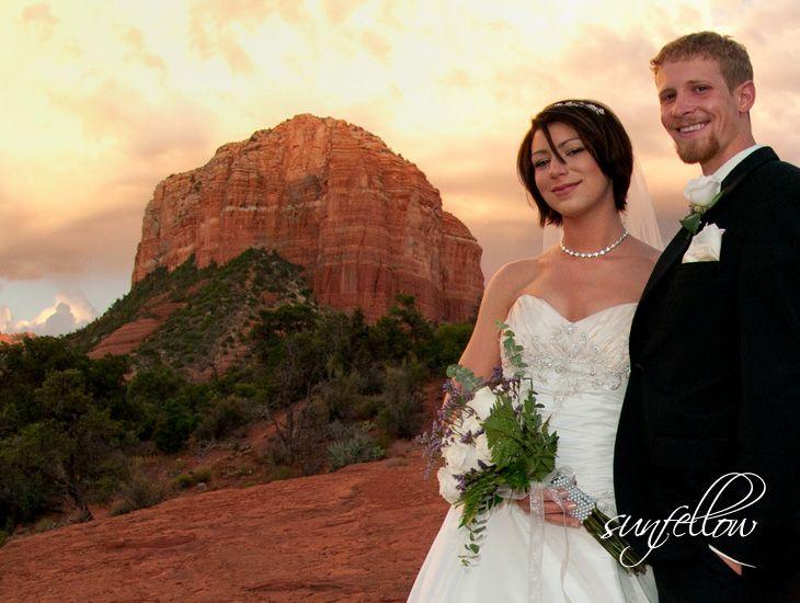 Sherry and Jacob's wedding. Bell Rock. Sedona, Arizona.