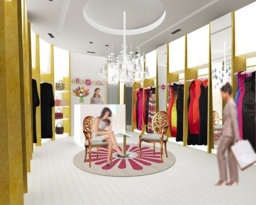 Ladies Boutique Interiors Dabbagh Architects Designs Boutique For
