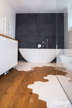 4 Styles De Tomettes A Adopter D Urgence En 2020 Idee Salle De Bain Amenagement Salle De Bain Salle De Bains Moderne
