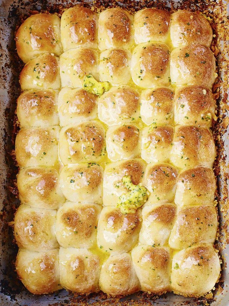 Tear 'n' share garlic bread #tearandsharebread