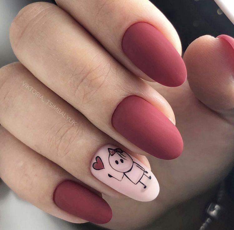 57 Mejores Disenos De Unas En Tendencia 2020 Valentines Nails