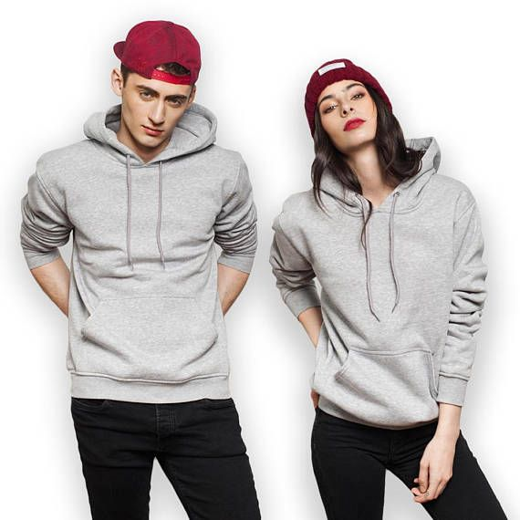 Download Men S And Women S Top Plain Hoodie Couple High Hoodies Womens Fashion Hoodies Men Style Women Hoodie Outfit