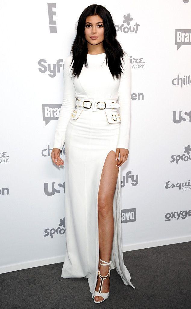 Kylie Jenner Red Carpet Looks Pesquisa Google Longos
