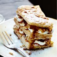 Mince pie millefeuille recipe Waitrose Millefeuille