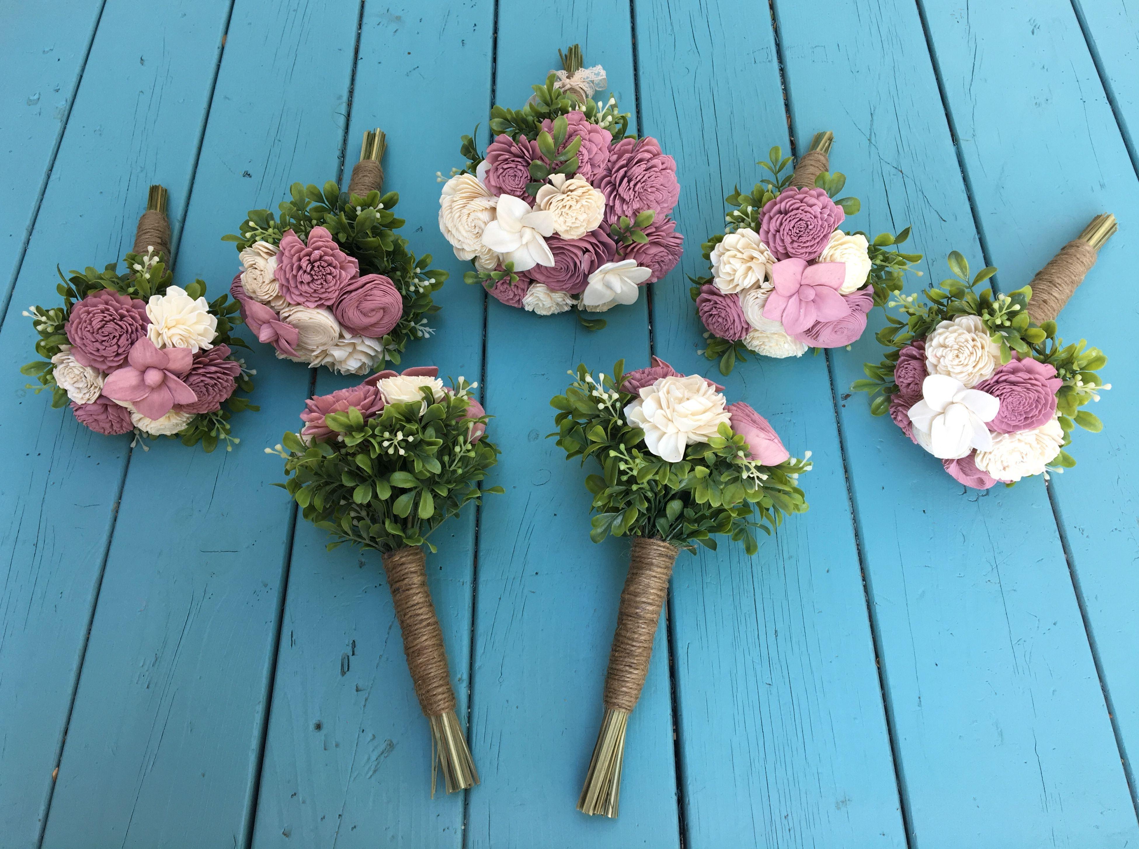 Wood flower bouquets Wood flower bouquet, Sola wood