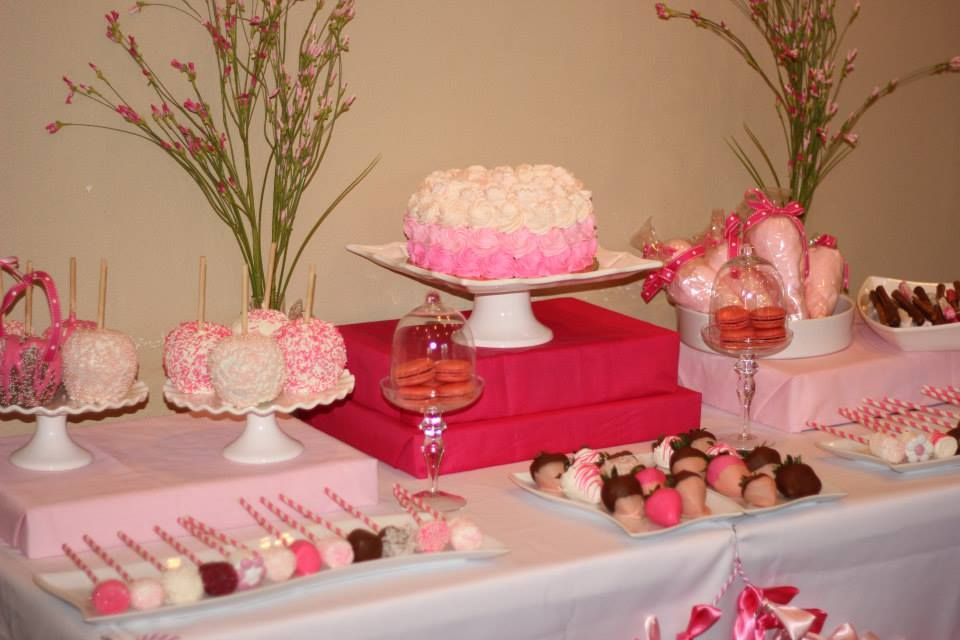 Mesa de postres baby shower ni a detallitos diana part 2 for Mesa de dulces para baby shower nino