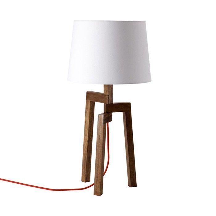 Stilt Table Lamp Lamp Wooden Lamp Candle Lamp