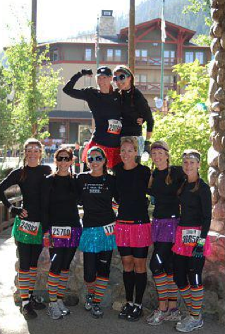 Sparkle running skirts for our next 5k?! :) @Darby Laine