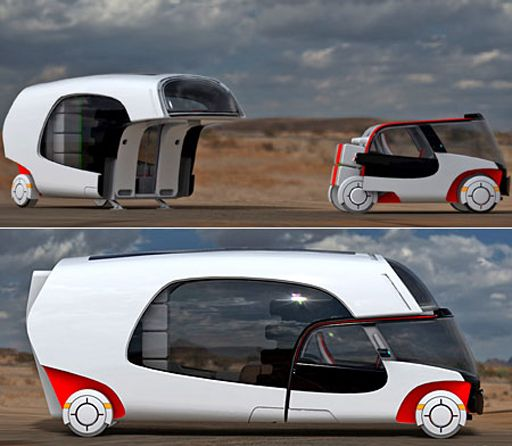 colim campervan le mini bus en 2 parties voiture et mobile home technology and innovation. Black Bedroom Furniture Sets. Home Design Ideas