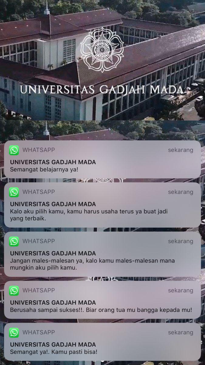 universitas gadjah mada lockscreen