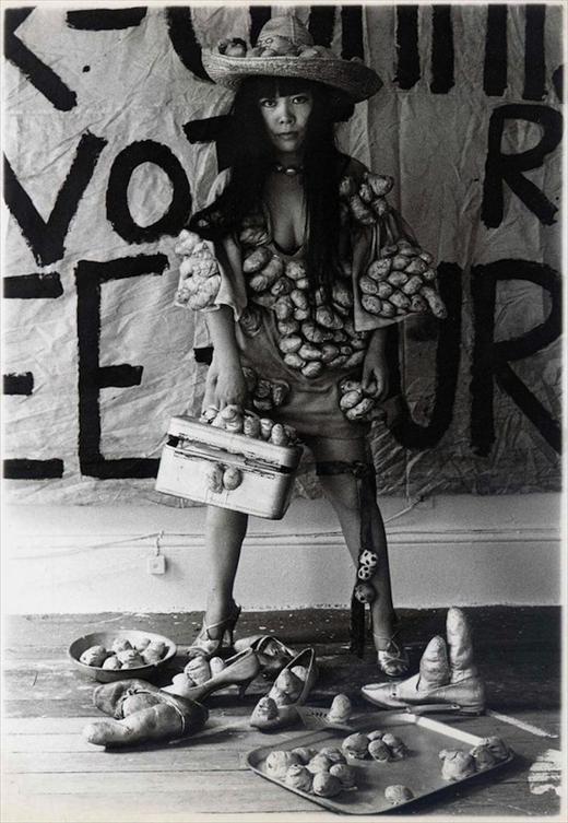 Yayoi Kusama Fashion, New York, 1970 © Yayoi Kusama Studios Inc
