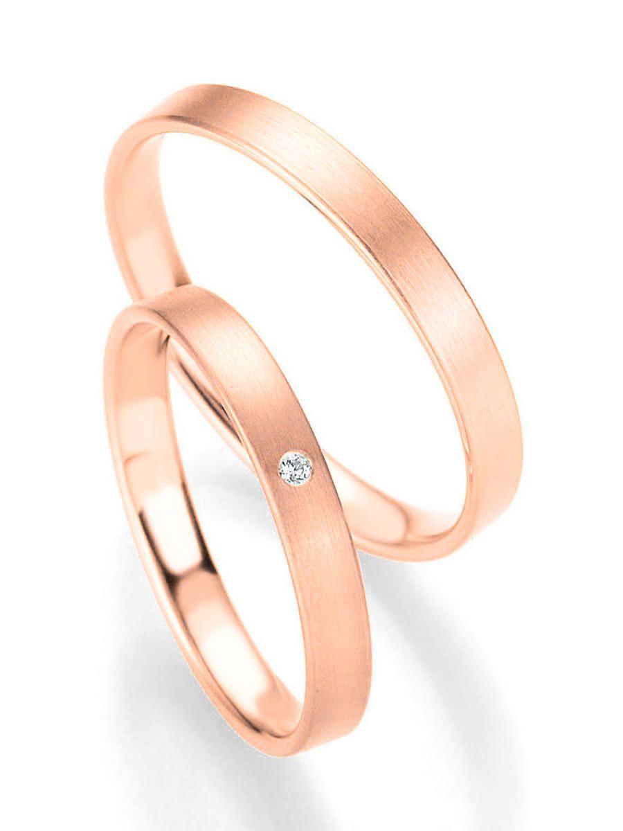 Klassische Roségold Ringe Ringbreite 3 mm Kollektionen