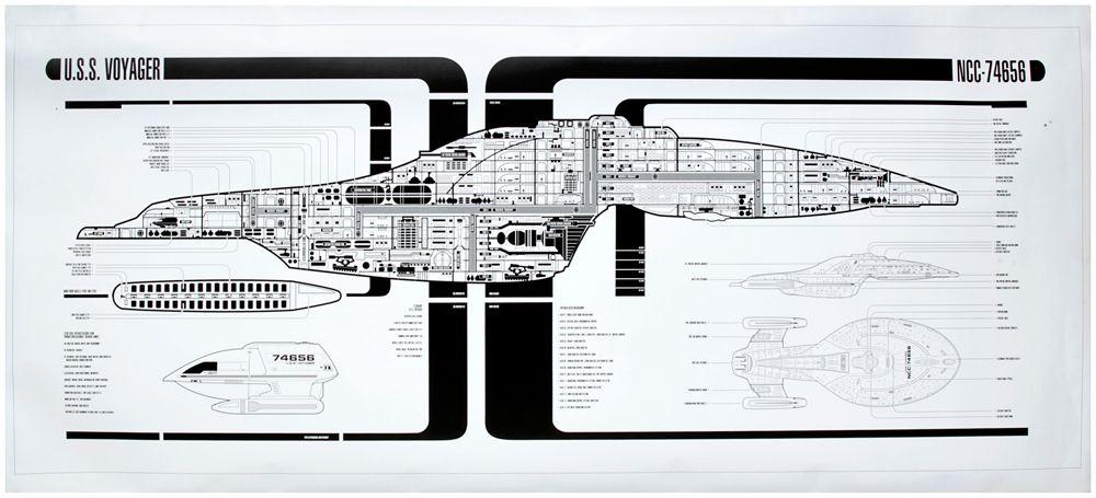 Voyager schematic The Star Trek Prop, Costume & Auction Blog ... on galaxy star trek lcars schematics, star trek prometheus schematics, deep space nine schematics, uss enterprise schematics, delta flyer schematics, sci-fi spaceship schematics, ship schematics, gilso star trek schematics, federation runabout schematics, starship schematics, star trek enterprise schematics, babylon 5 schematics, seaquest dsv schematics,