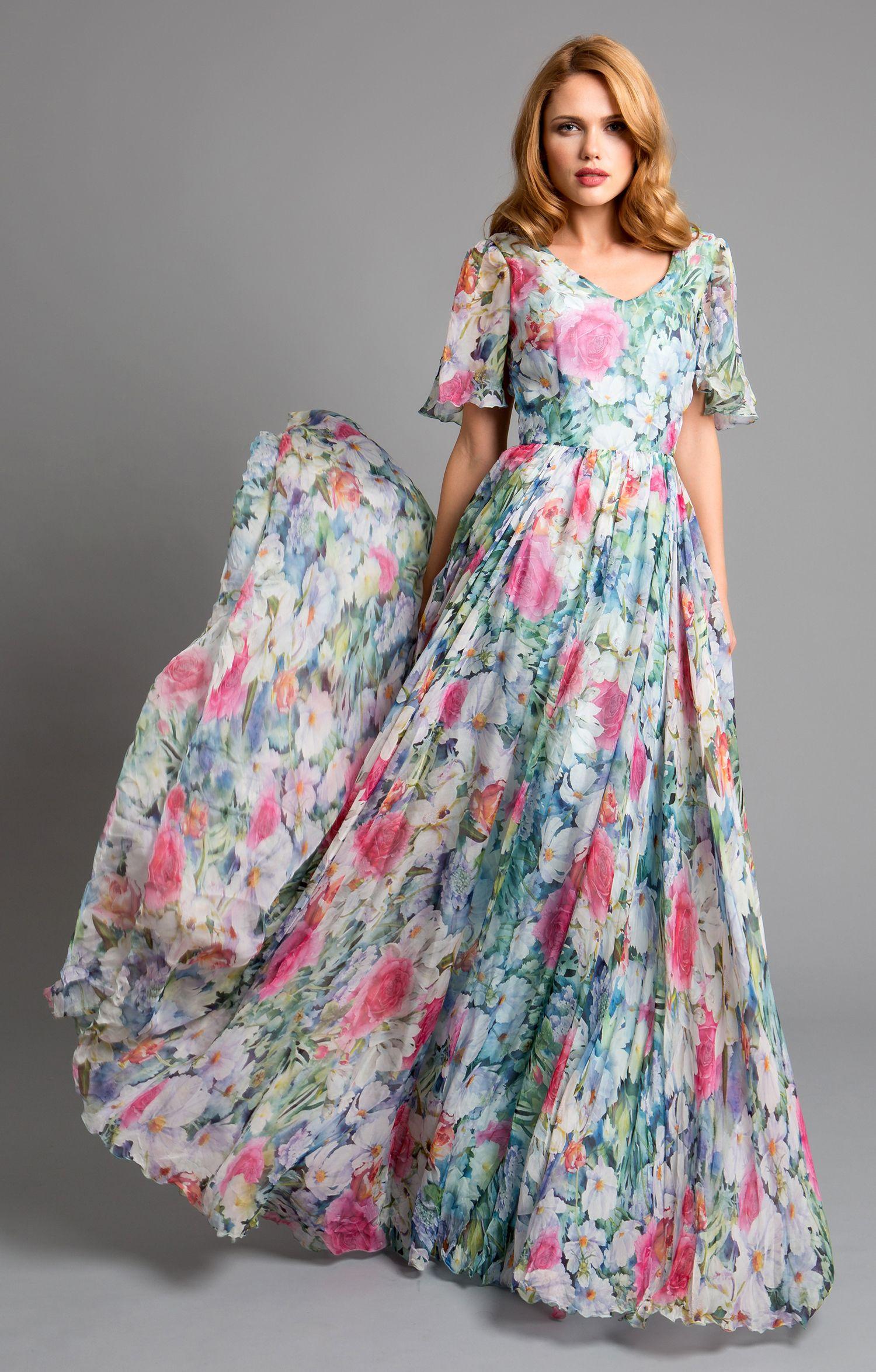 """Seidenkleid """"Leonie"""" mit abnehmbaren Ärmeln, Silk Dresses ..."""