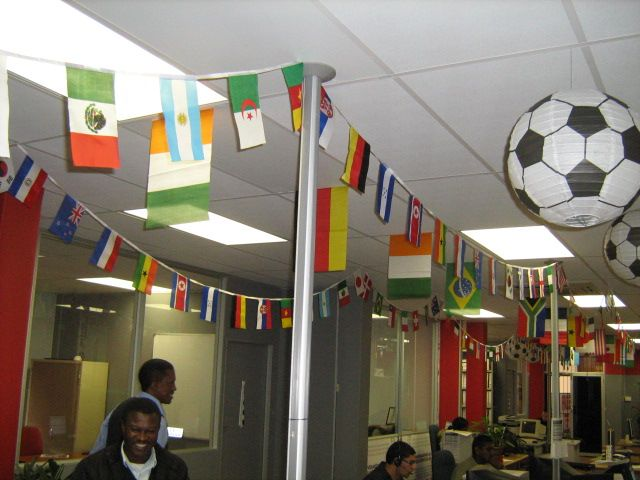 It S Fun Hosting A Fifa World Cup Party Party Hall Decoration