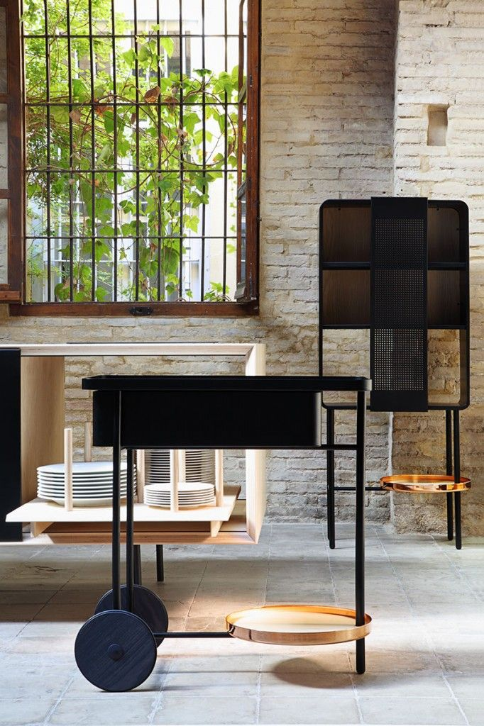 Super Sleek And Stylish Bar Cart By Mut Design Part Of The Float