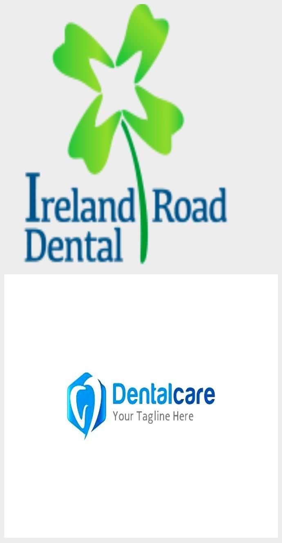 Ireland Road Dental Logo by Minus 9 Design #dentallogo