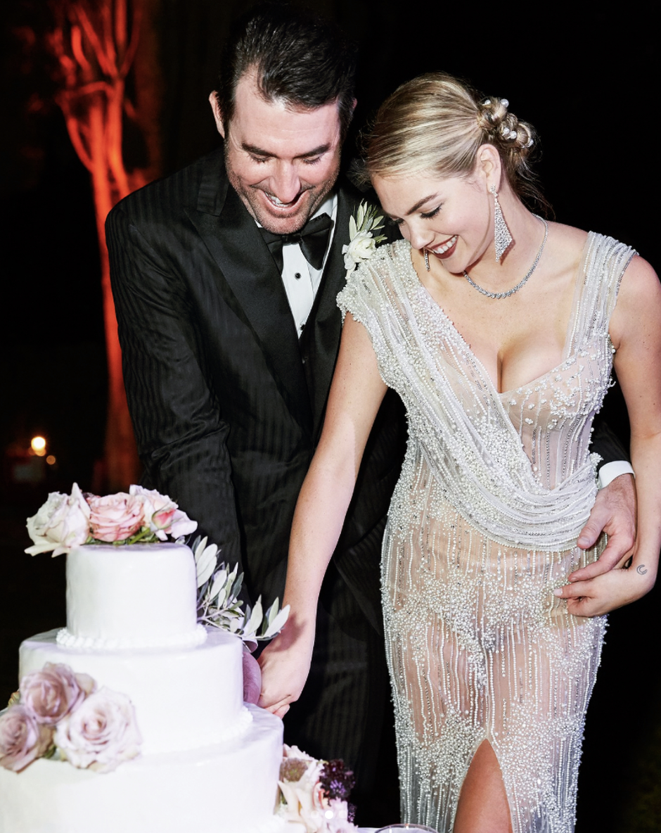 Kate Upton wore a naked dress to her wedding and it's stunning