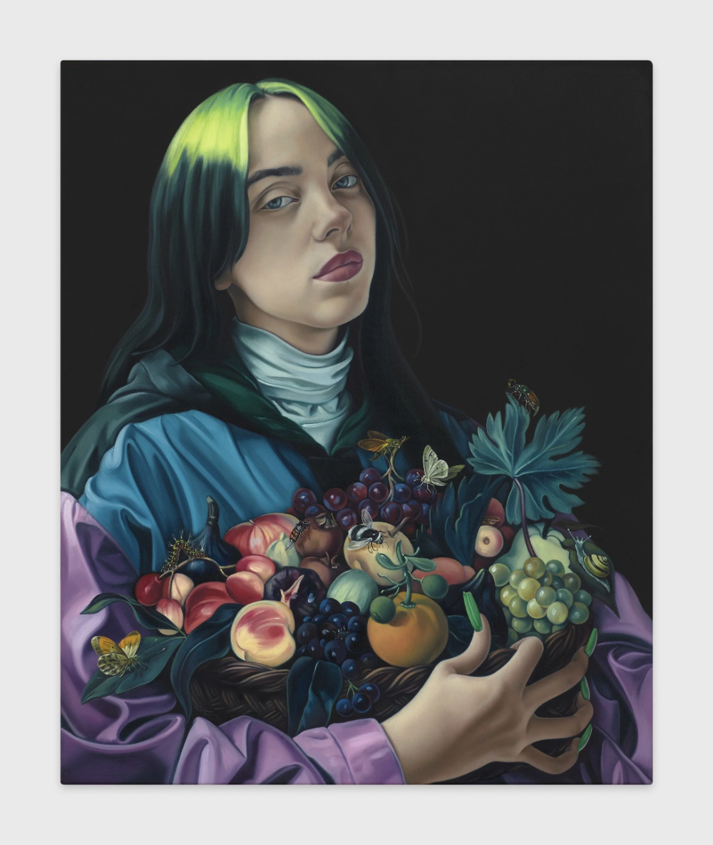 Jesse Mockrin Paints Billie Eilish in the Style of