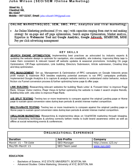 Livecareer has resume examples from every state and nearly every city in the u.s, so you can find resume examples from a location near you. Pin On Resume Format