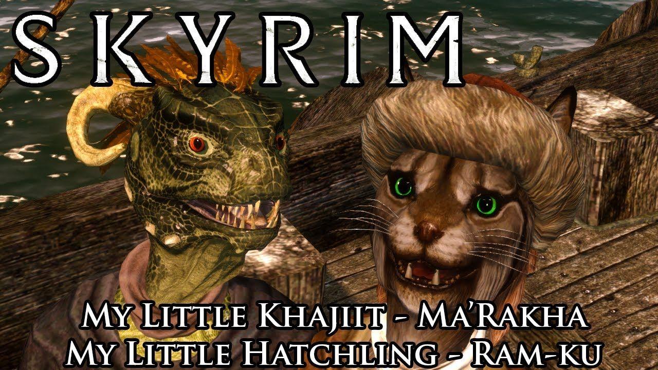 Skyrim Mods: Khajiit and Argonian Adoptable Children | Freezer Bunny
