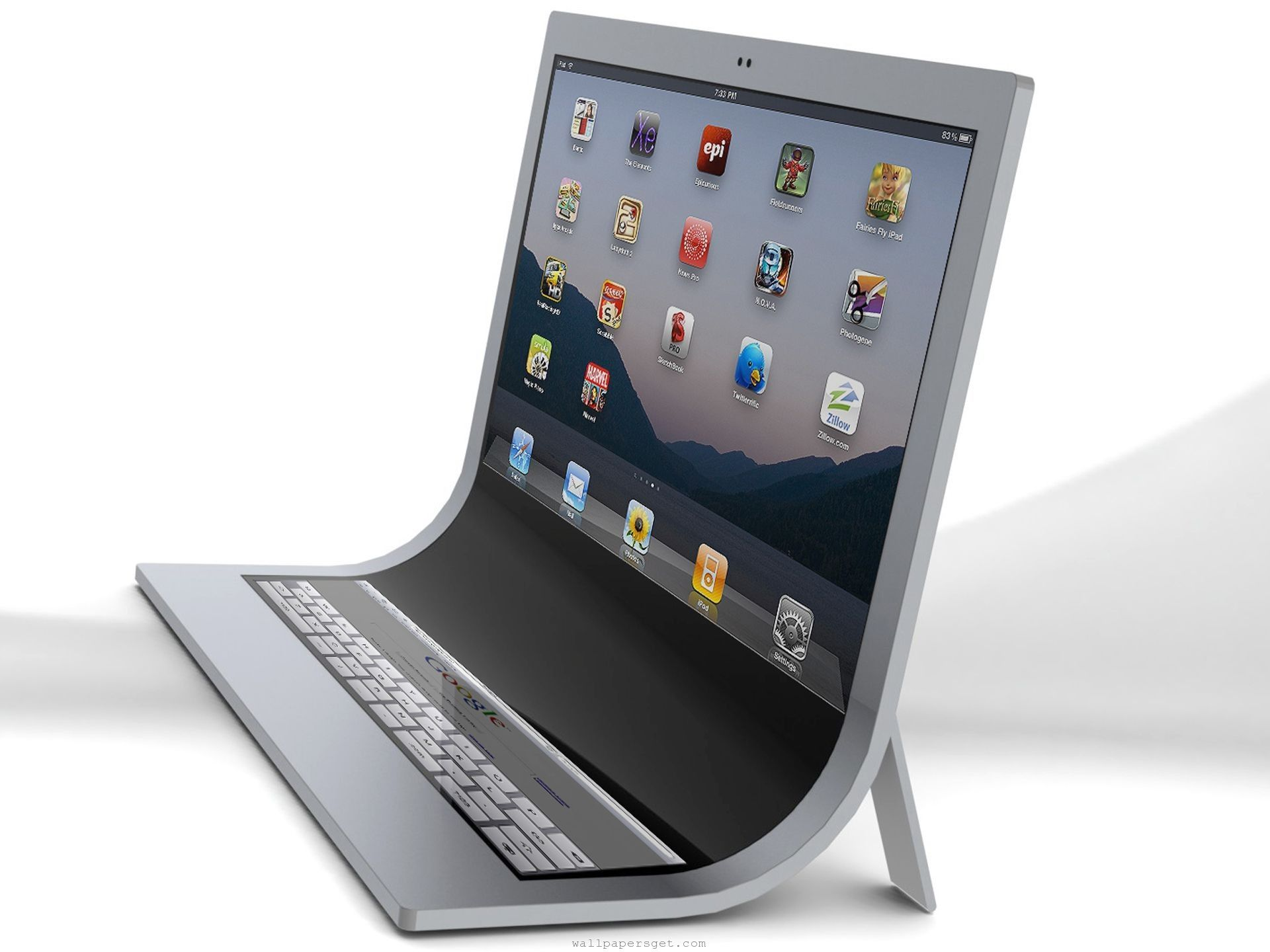 modern workspace apple imac touch concept i things