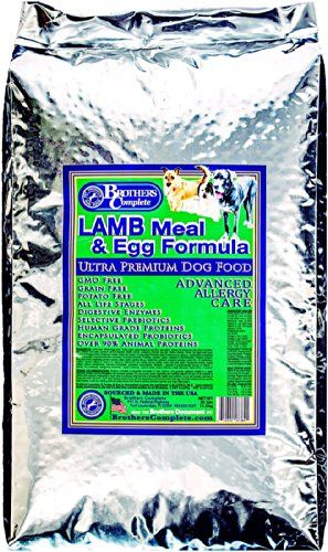 Brothers Complete Lamb Meal And Egg Advanced Allergy Formula 25
