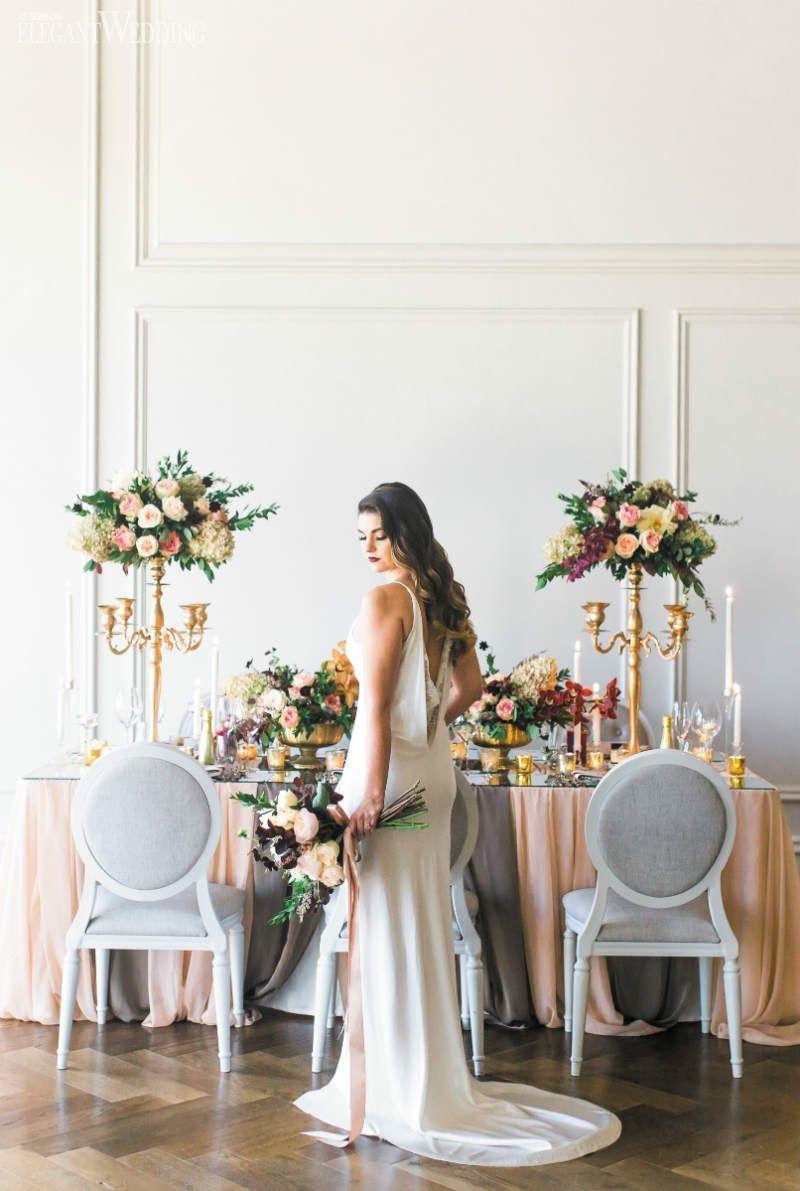 Fall wedding decor ideas  Modern Fall Wedding Decoration Ideas Fall Wedding Table Setting