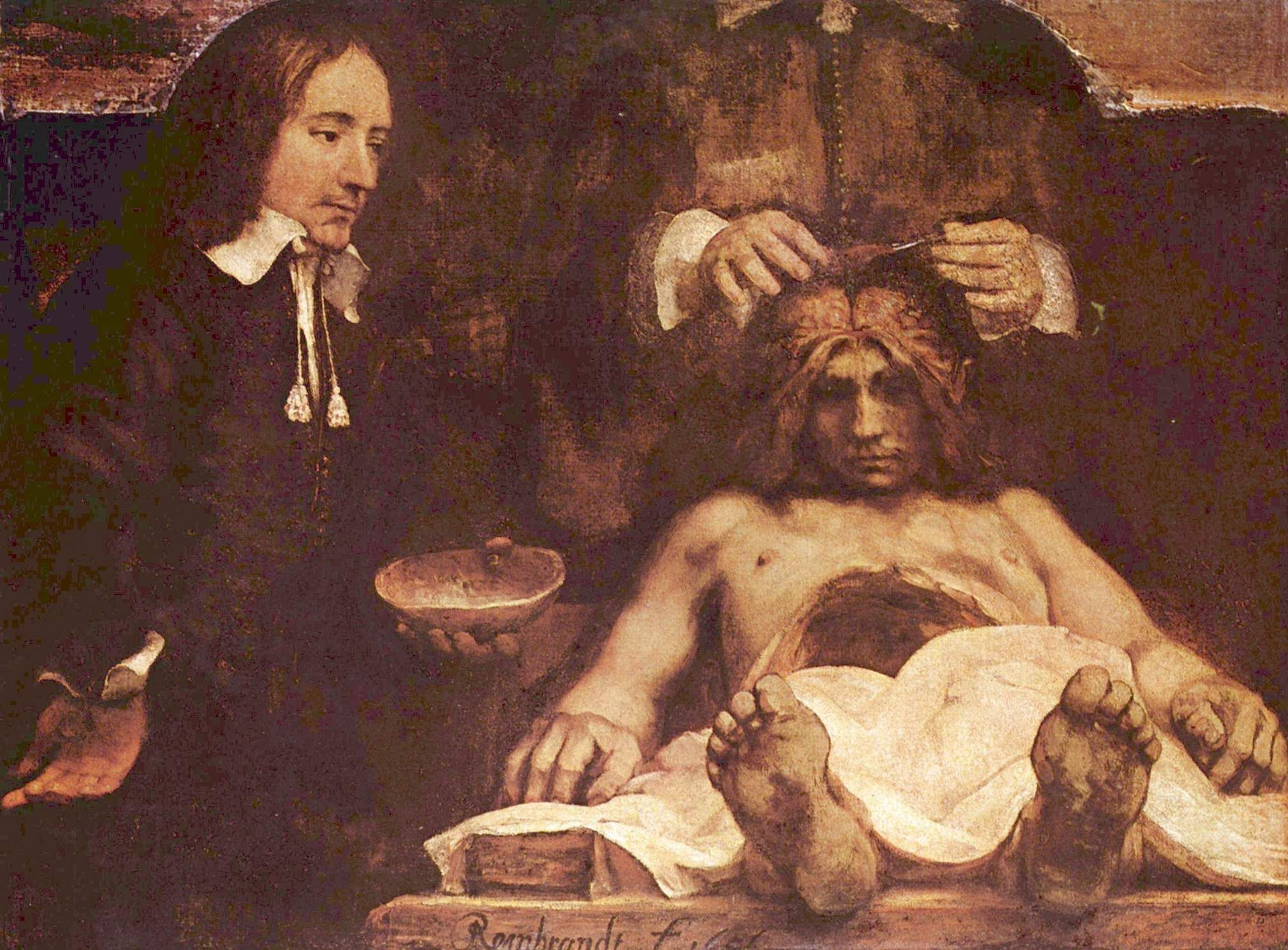 Perfect Rembrandt Anatomy Lesson Photo - Anatomy and Physiology ...