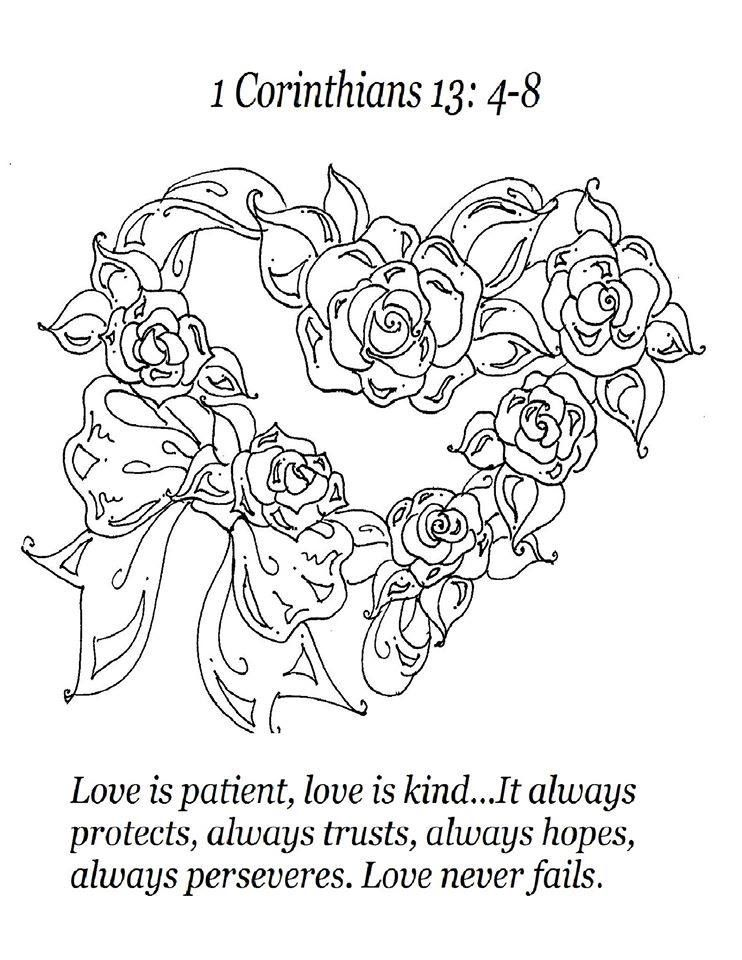 1 Corinthians 13:4-8 Love Is, by Sherry West, FREE Adult