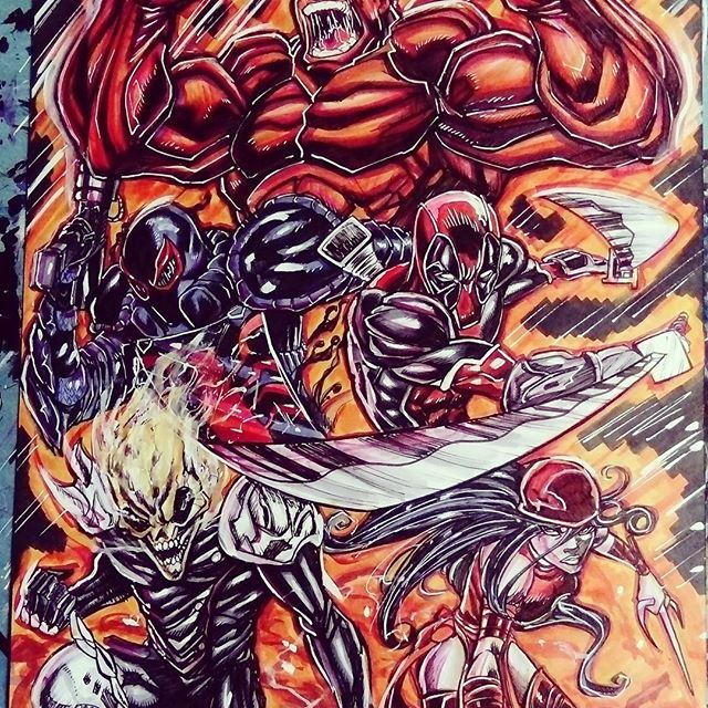 Thewiszlearts Instagram Posts Gramho Com Art Ghost Rider Pictures Artwork