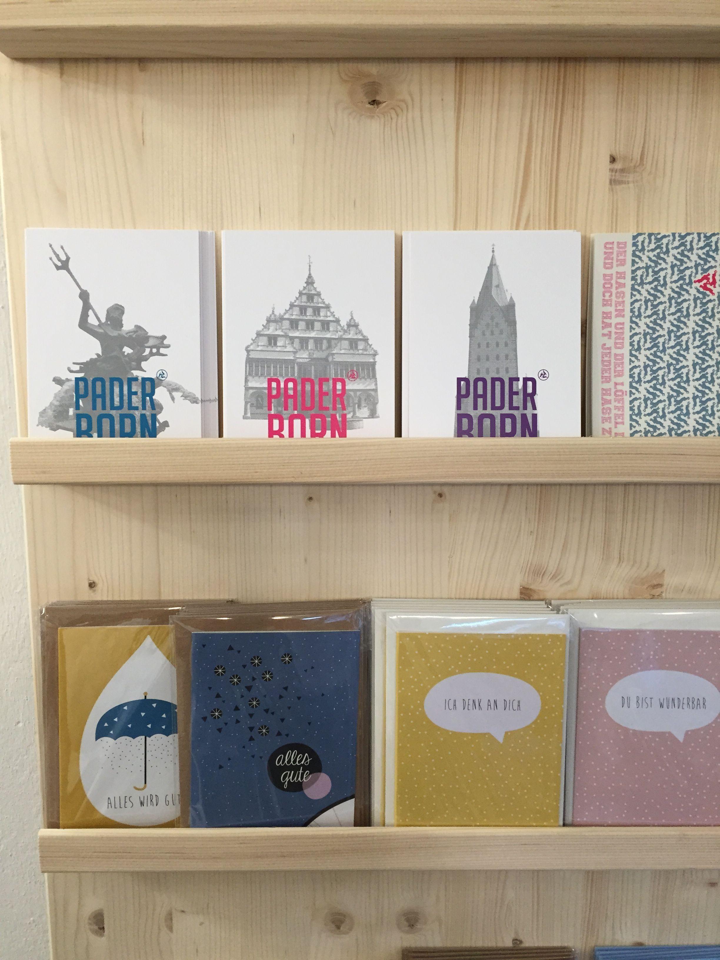 Kartenständer - gesehen in der März - Manufaktur | Ladeneinrichtung ...