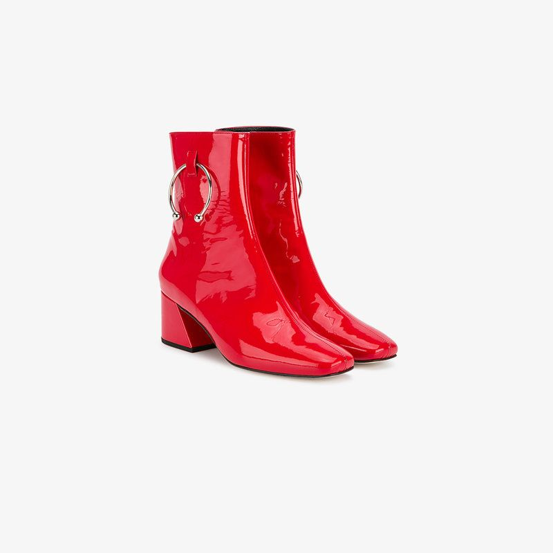Patent Dorateymur Schuhe Leather Shoes Boots From Red Nizip CdHOnwqTT