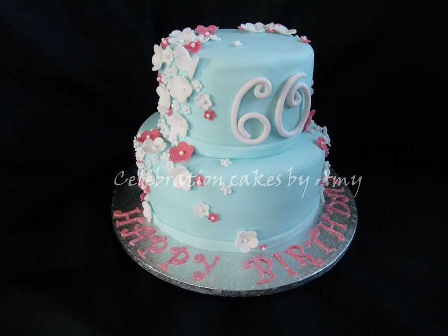 Ladies 60th birthday cake   Birthday Cakes Birthday ...