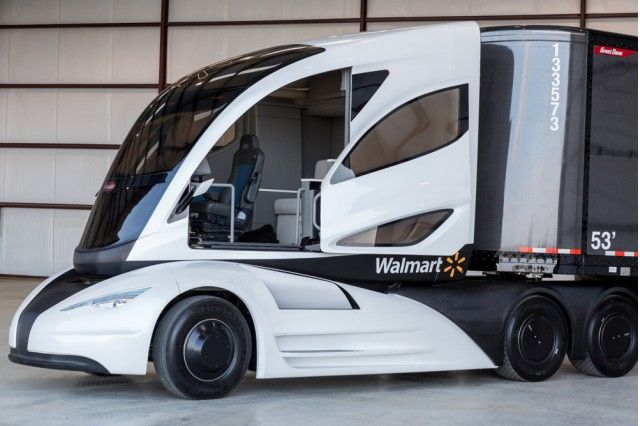 Wave Concept Truck Advanced Vehicle Experience