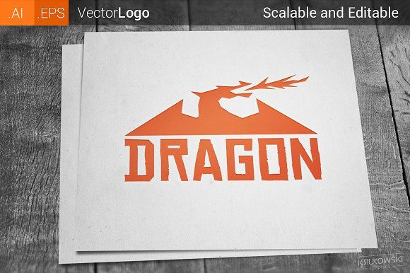 Dragon Logo Graphics Logo Templates And Logos