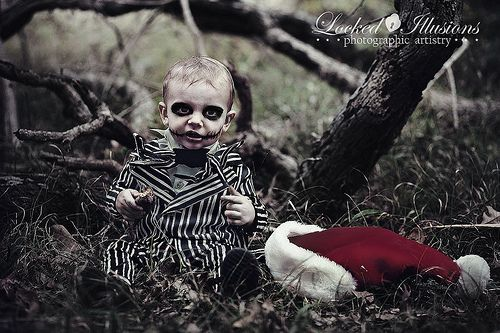 nightmare before christmas-themed baby photo session!  sc 1 st  Pinterest & nightmare before christmas-themed baby photo session! | Kiddo ...
