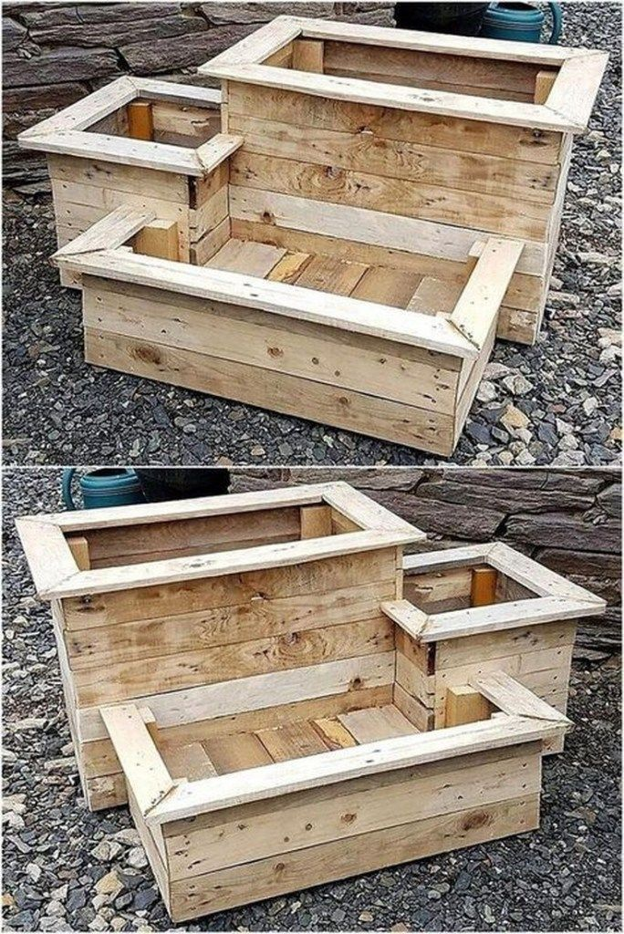 ✔30 super cool diy reclaimed wood projects for your backyard landscape 23
