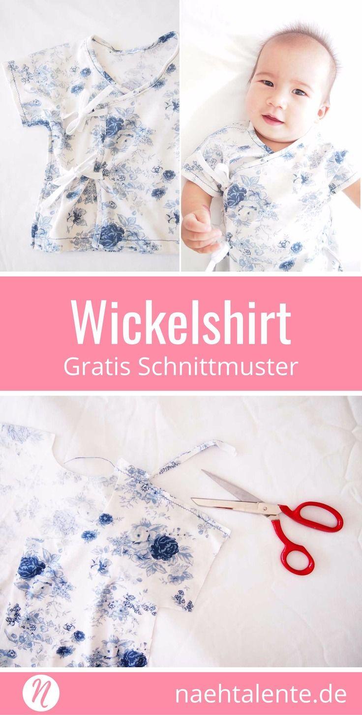 Baby Wickelshirt Freebook | Pinterest | erstes Baby, Monat und Kostenlos
