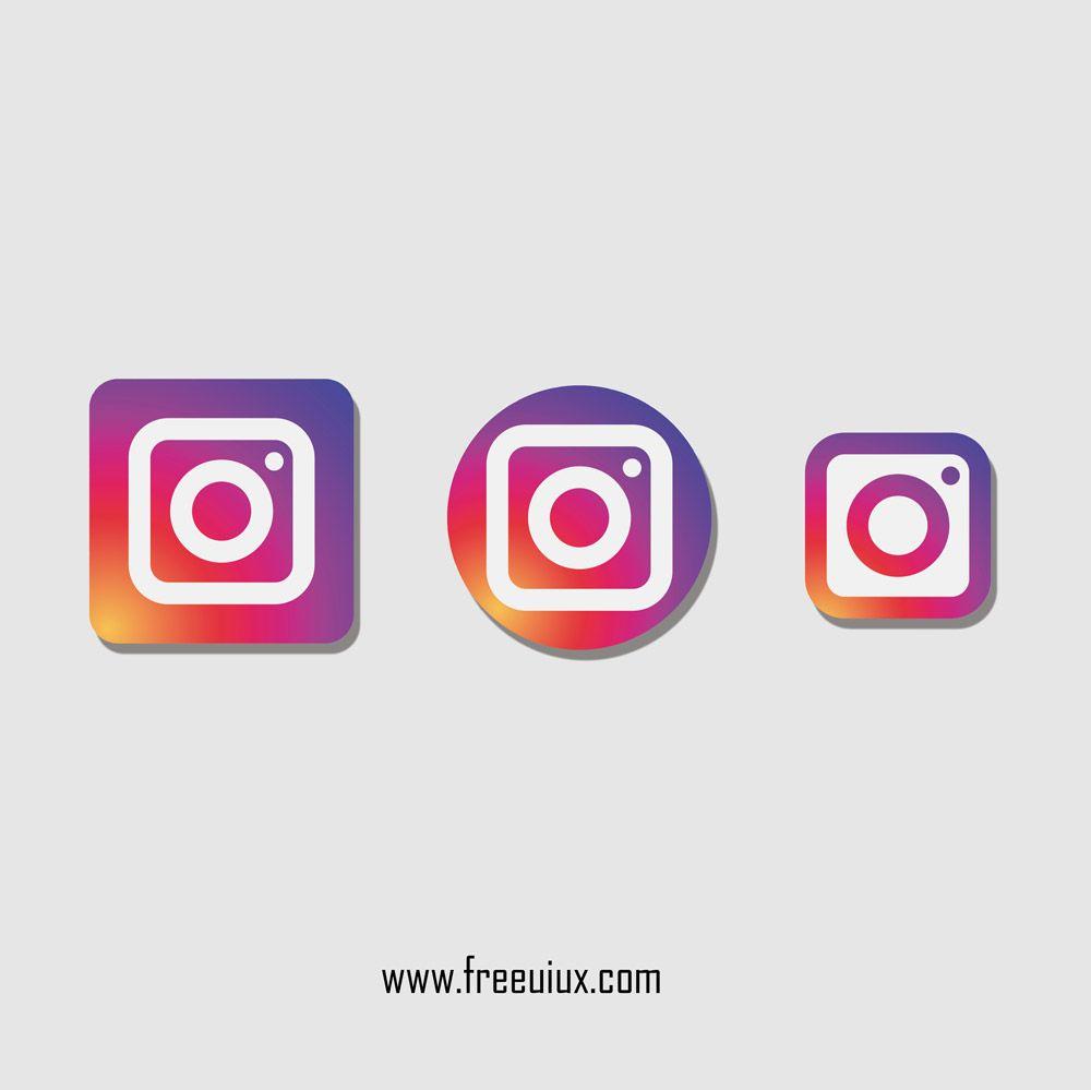 Instagram Logo Pack Free Download Instagram Board Instagram