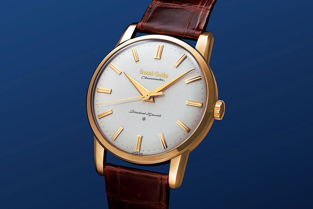 Vintage Eye for the Modern Guy: The Re-Creation of the First Grand Seiko