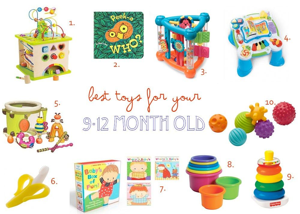 Best Toys For Your 9 12 Month Old 12 Month Old Toys 9