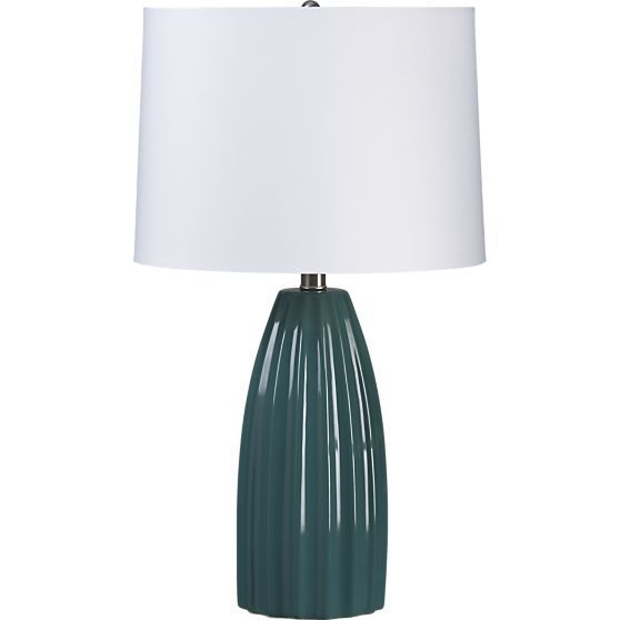 Ella Teal Table Lamp Table Lamp Teal Table Lamps Teal Table