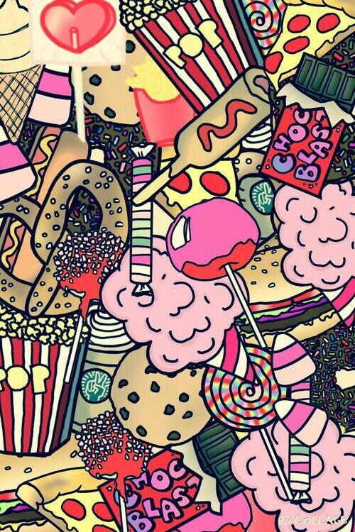 Junk Food Wallpaper Tumblr